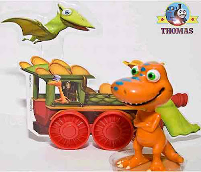 Dinosaur Train cartoon character figures topper set secret recipe designer birthday cake for kids