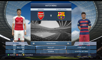 PES 2015 Full Patch and Adboards