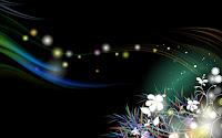 Fireflies wallpaper 1920x1200 pixels