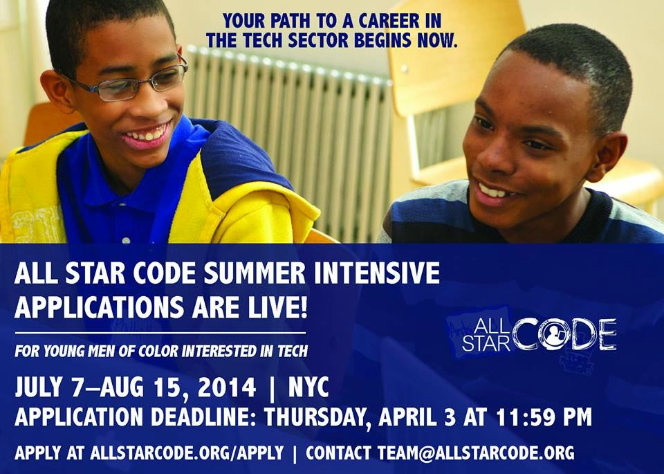 The FICKLIN MEDIA GROUP,LLC: All Star Code's Summer Intensive Program