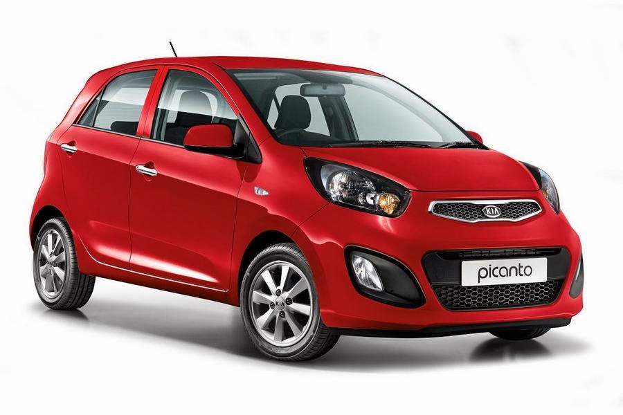 Kia Picanto VR7 5-Door (2014) Front Side