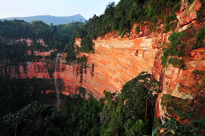 (China Danxia) - Mount Chishui in Guizhou