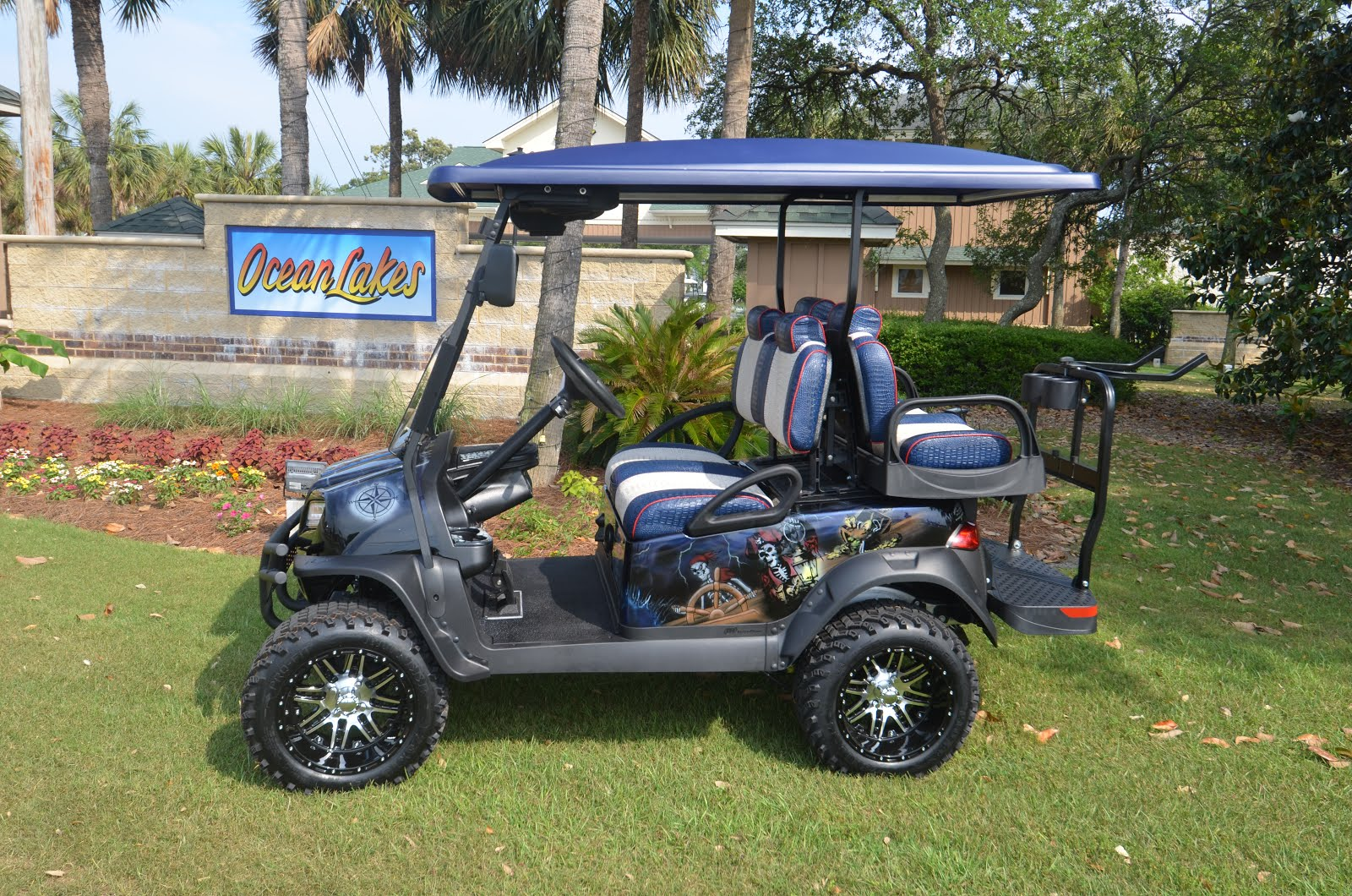 Ocean Lakes: This is what you get when pirates take over a golf car on