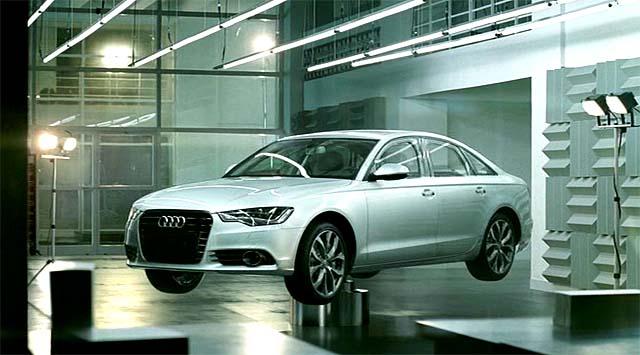 Esqueleto de aluminio del Audi A6