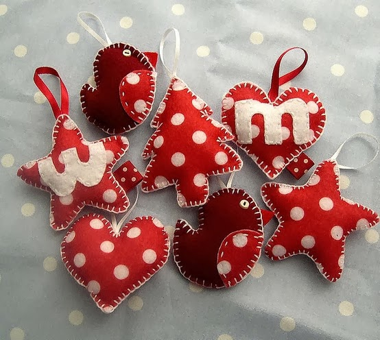 wonderland handmade christmas tree ornaments
