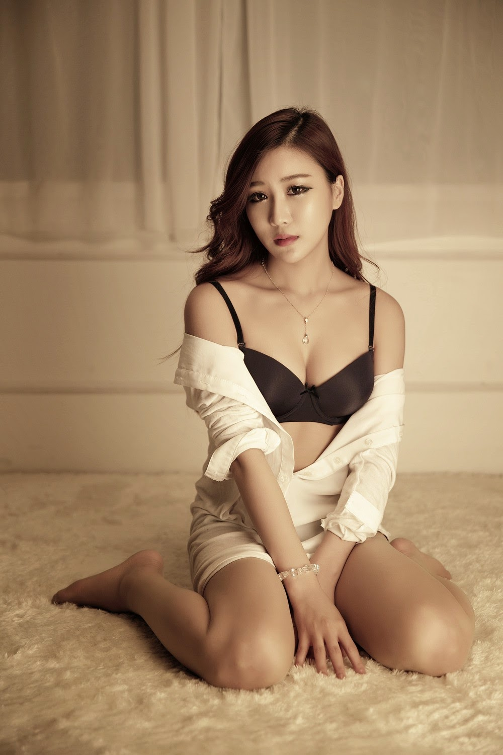 Yoon Chae Won - Sexy in Lingerie