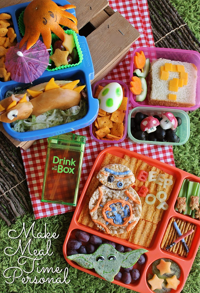 3 Simple Bento Ideas To Put A Smile On Your Child's Face with Drink In The Box by Eastman Tritan™ (ad)