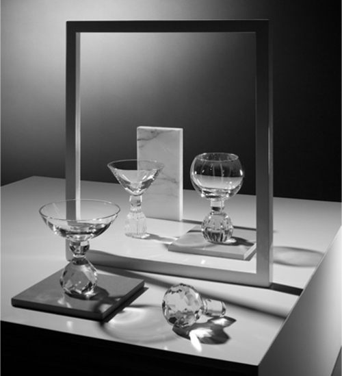 Lee Broom Half-cut glassware