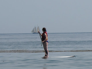maine - paddleboard