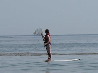 maine - paddleboard