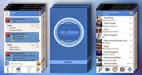 Download MI-BBM v2.7.0.21 - BBM Mod Minimalis Material Design