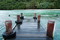 pier on Manukan Island