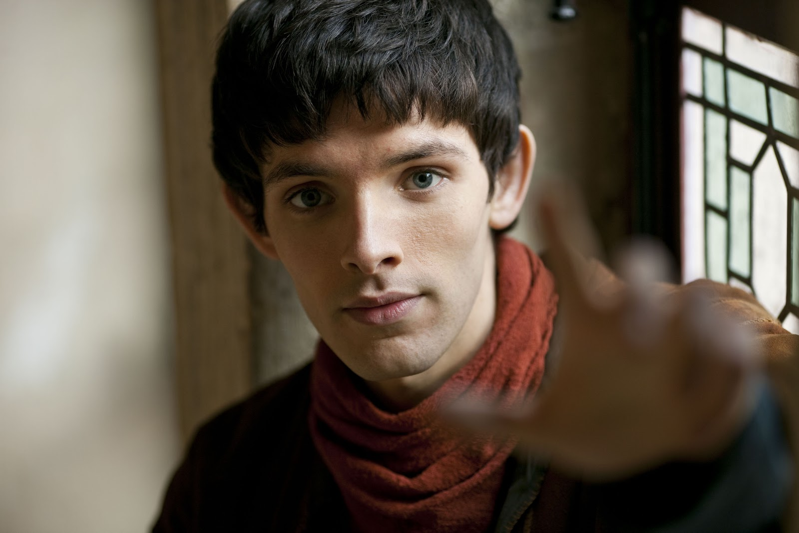 Colin morgan photos tv series posters and cast for The morgan