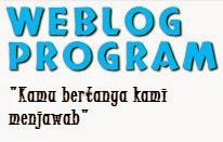 Tanya Apa Kebutuhanmu di Weblog Prorgam