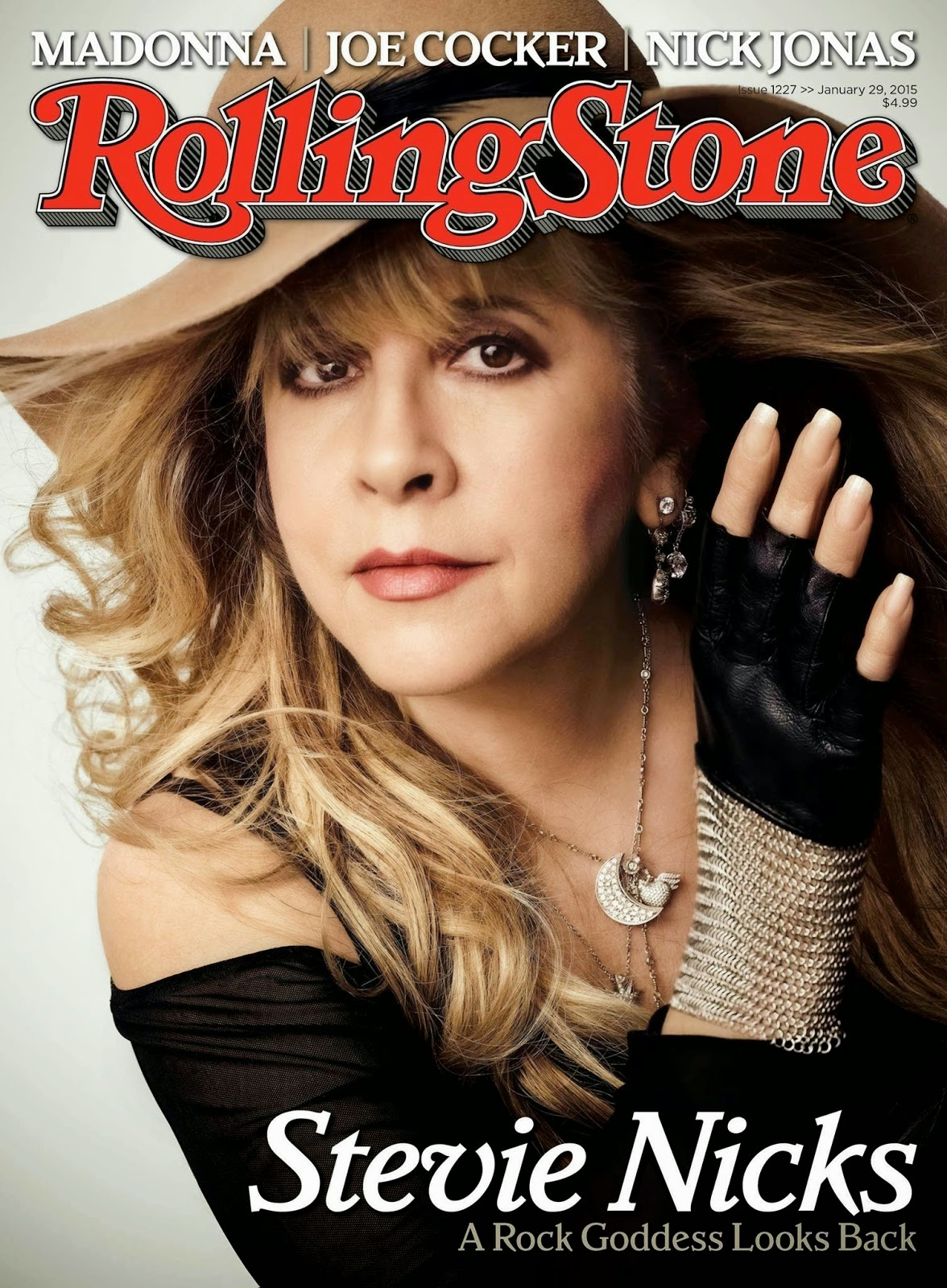 Singer, songwriter: Stevie Nicks For Rolling Stone