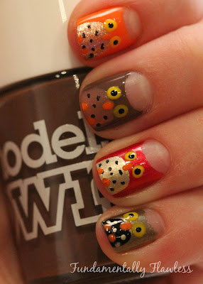 Fundamentally Flawless: Owl Nail Art