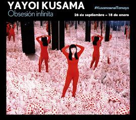"""Lo que vas a ver en la exposición de Yayoi Kusama """"Obsesión infinita"""""""