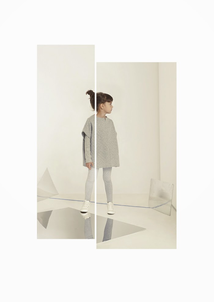 Quilted poncho by Kids on the Moon AW14 kids fashion collection