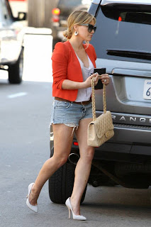 Hilary Duff Candids in Los Angeles
