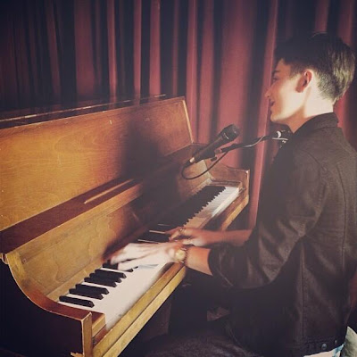 "Greyson Chance performing at ""Room 5 Lounge"" in Los Angeles"