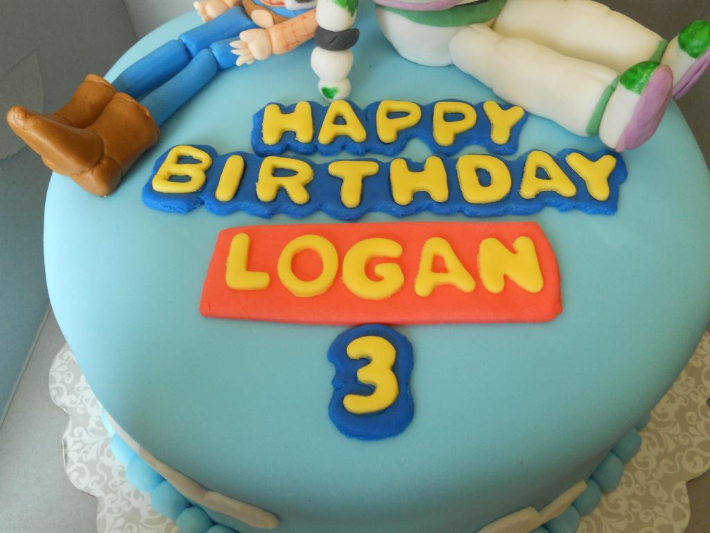 Happy Birthday Logan Cakes
