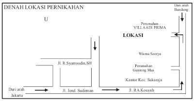 Sketsa dan Peta Wilayah yang Menggambarkan Objek Geografi