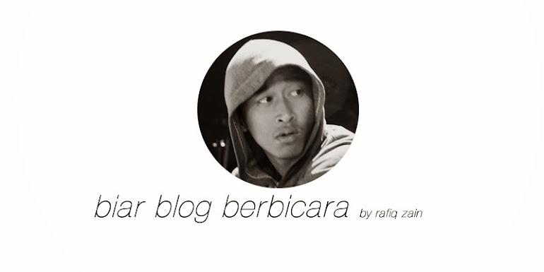 biar blog berbicara