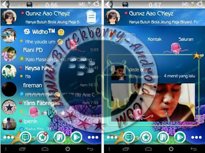 BBM Mod Simple Themes SeaWorld New v2.8.0.21 Apk