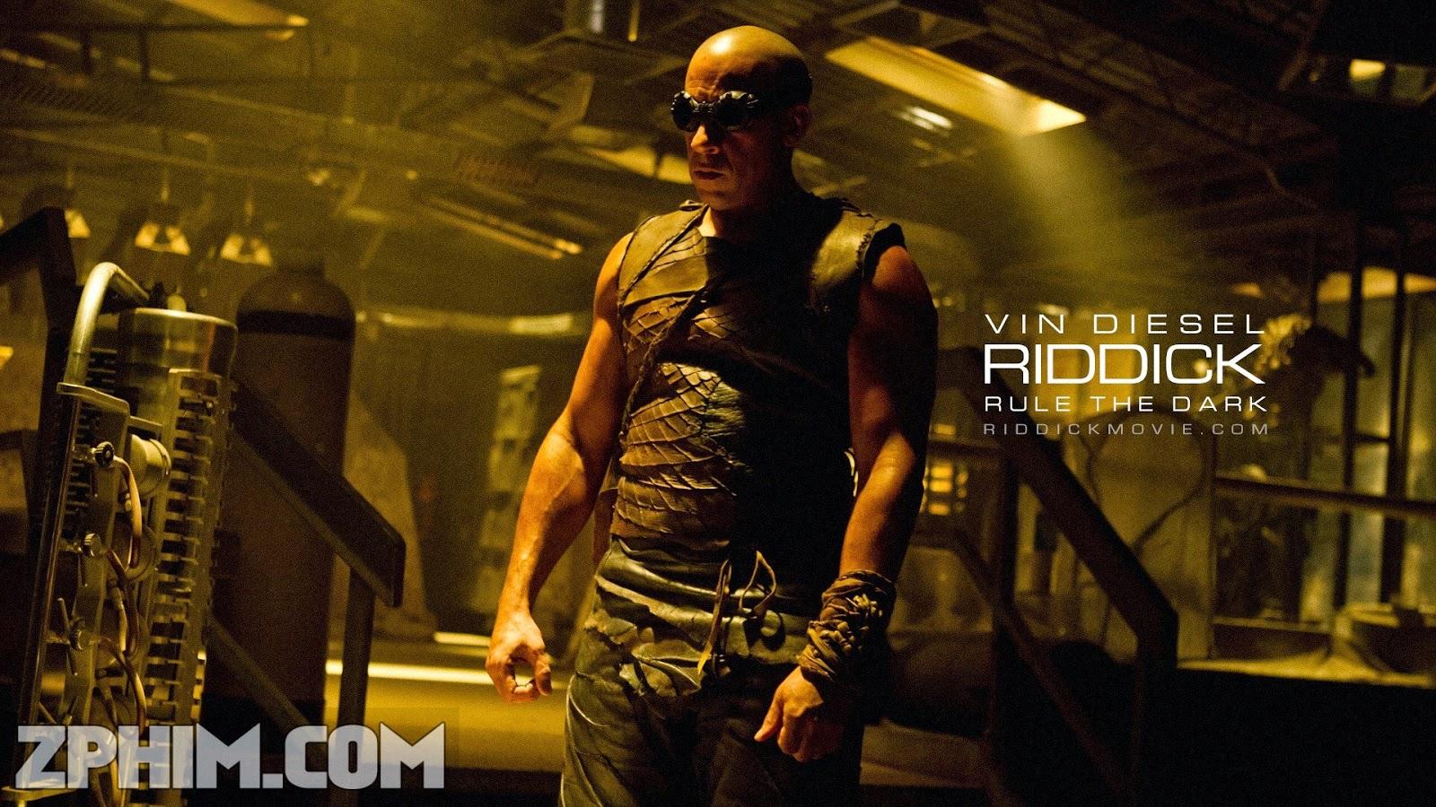 Ảnh trong phim Huyền Thoại Riddick - Riddick 1