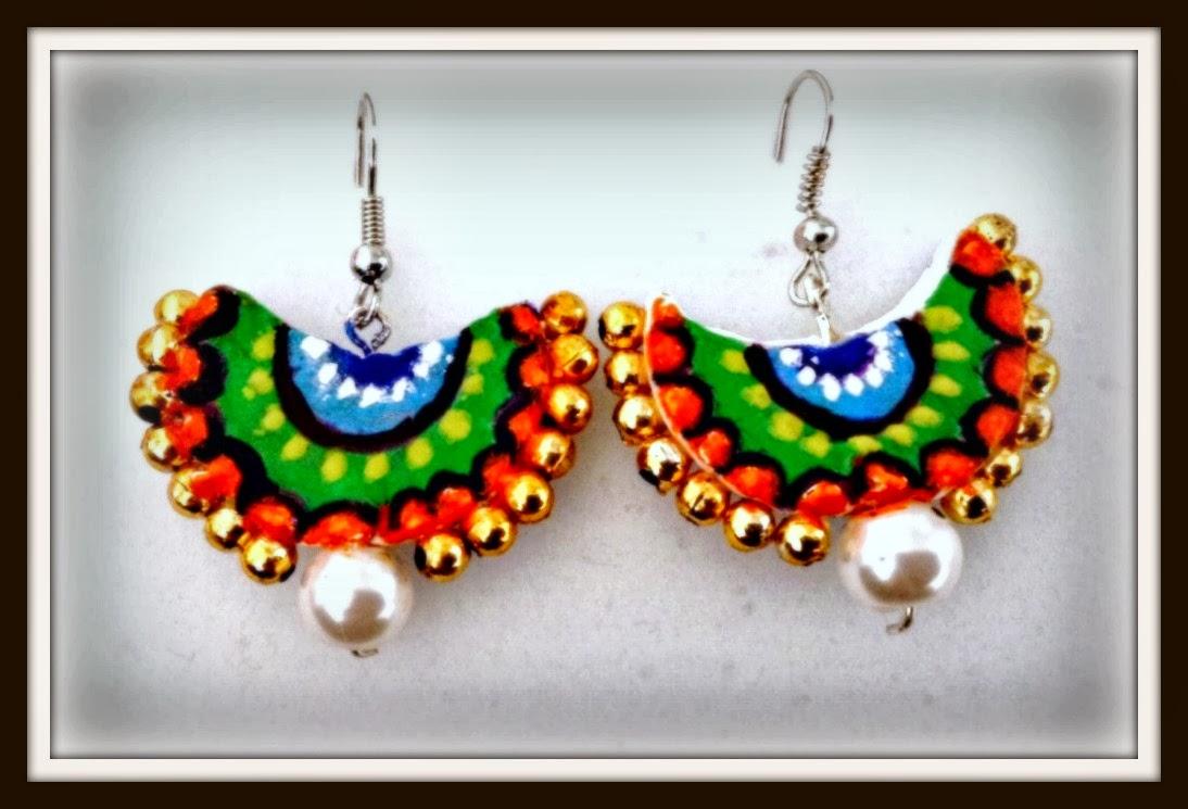 kriya tive kaleidoscope diy terracotta jewellery
