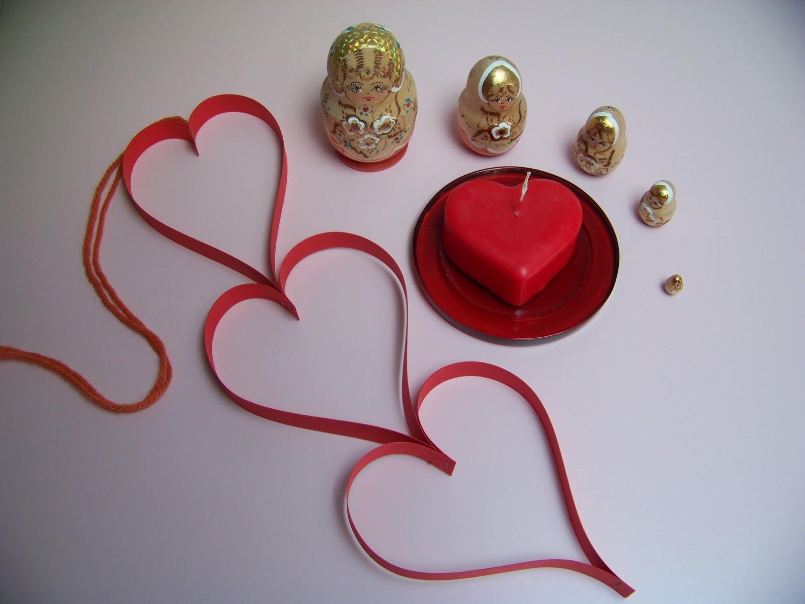 Mamma giochiamo lavoretti per san valentino addobbi dell 39 ultimo minuto - Decori per san valentino ...