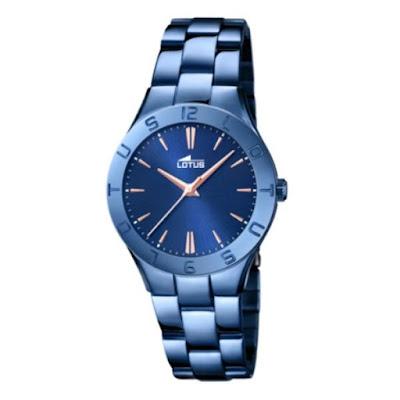 Reloj Lotus para mujer azul