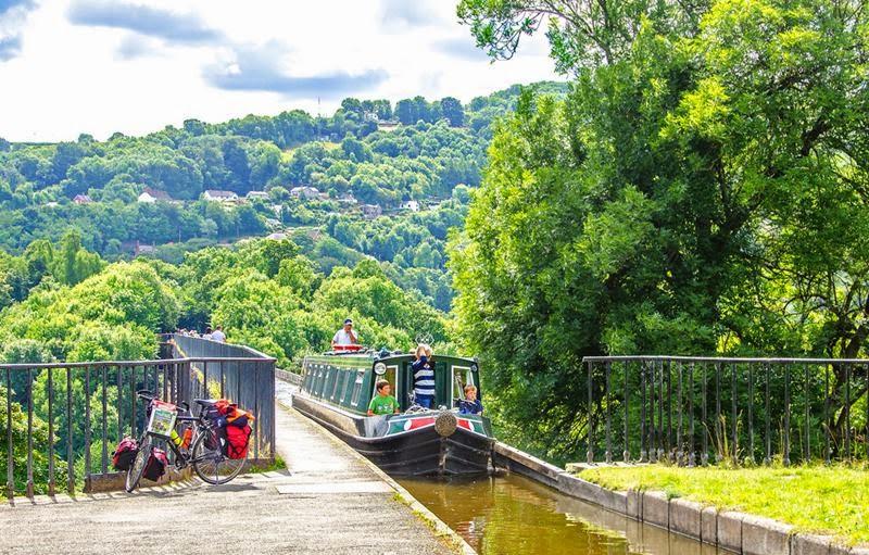 Pontcysyllte Aqueduct Wales.
