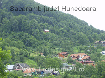 Satul Sacaramb din zona muntilor Apuseni - muntii Metaliferi