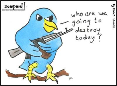 Zomperd - Twitter Filosofie