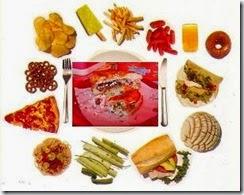 alimentos altos en azucar y grasas que son malos para el organismo