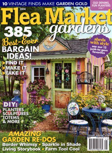 tea with friends flea market gardens magazine 2014 edition