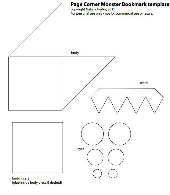 Αστείοι σελιδοδείκτες για τα βιβλία-pattern