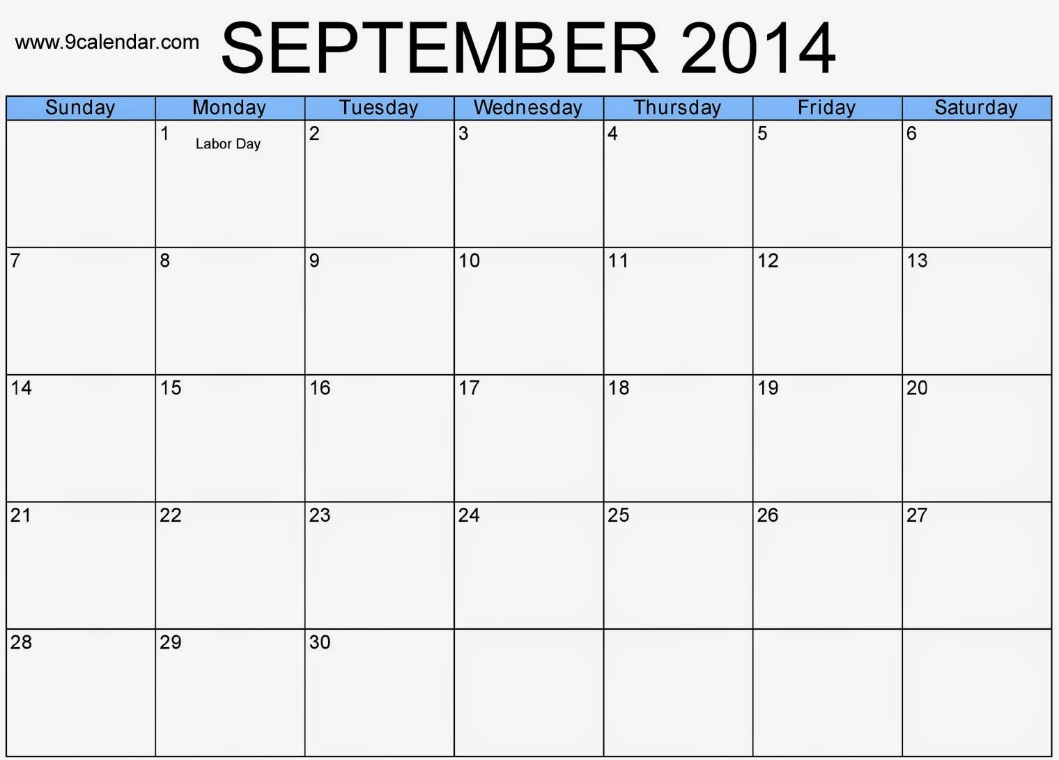Blank Calendar Download : Free printable calendar