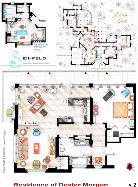 Stunning Simpsons House Floor Plan Pictures - 3D house designs ...