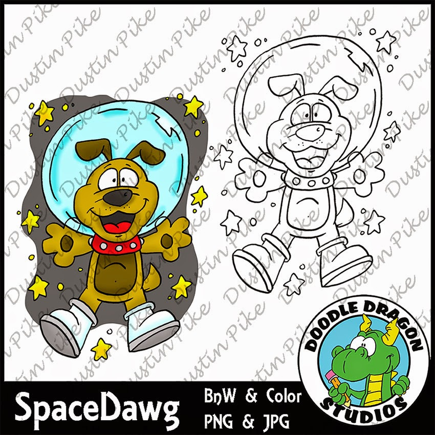http://www.doodledragonstudios.com/digital-stamps/space-dawg/prod_394.html