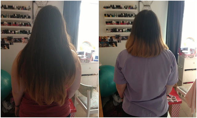hair donation to little princess trust before and after
