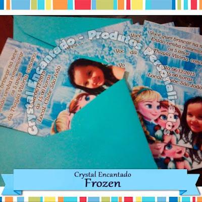 Convite Frozen