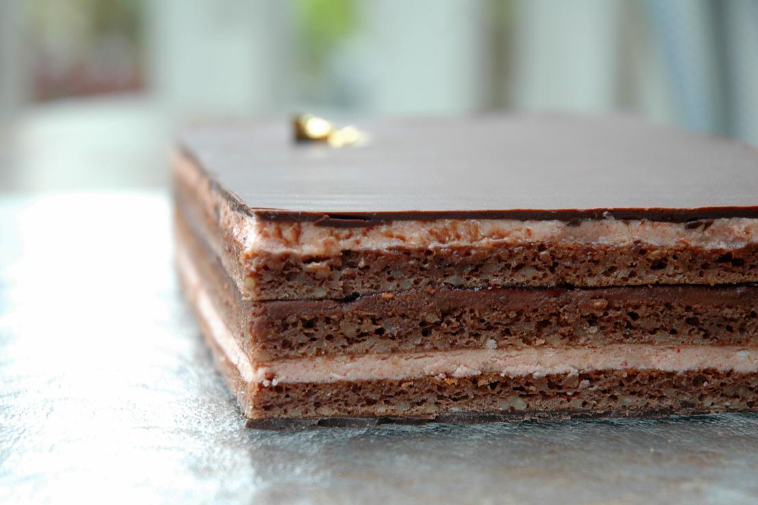 Chocolate And Coffee Opera Cake Recipe