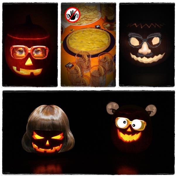 Bláznivé Halloweenské dýně