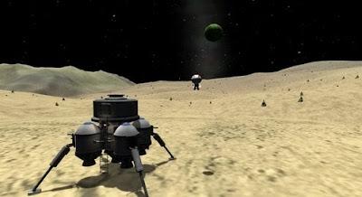 Gameplay Kerbal Space Program