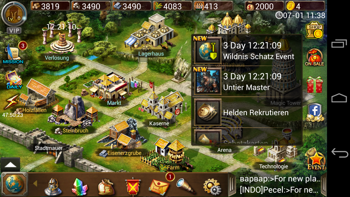 Android Age of Warring Empire Apk resimi 7
