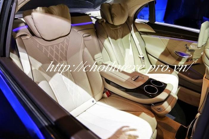 Cho thuê xe cưới Mercerdes S500