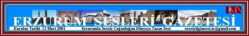 ERZURUM SESLERİ GAZETESİ