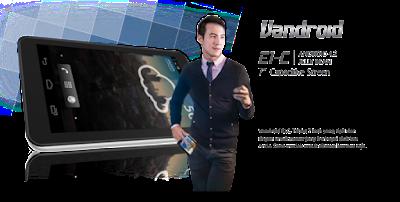Spesifikasi Tablet Advan Vandroid E1C terbaru